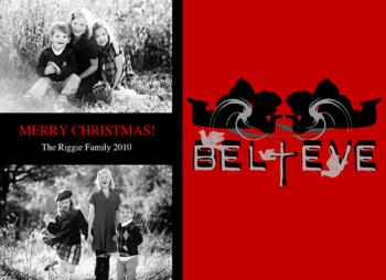 Believe1 Holiday Photo Cards