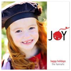Jingle Bell Joy Holiday Photo Cards