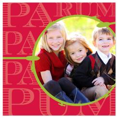 Pa Rum Pa Pa Pum Holiday Photo Cards