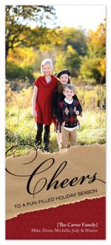 Paper Cheers Holiday Photo Cards