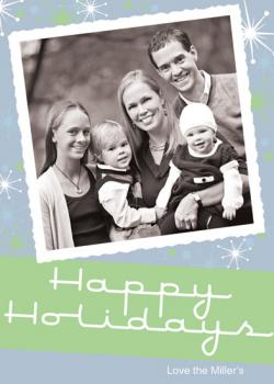 Deco Holiday Photo Cards