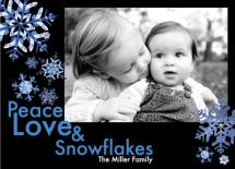 Peace, Love & Snowflake... by Margot Miller