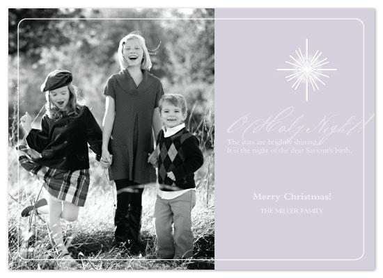 holiday photo cards - O Holy Night by Julia