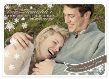 Lovely Wishes Holiday Photo Cards