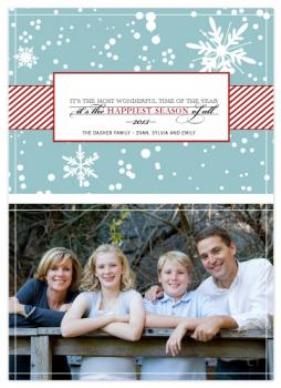 Joyous Holiday Holiday Photo Cards