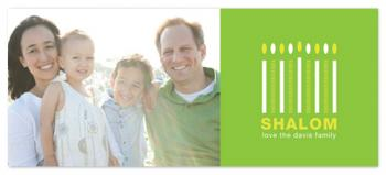 Shalom Holiday Photo Cards