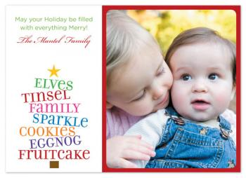 Everything Merry Holiday Photo Cards