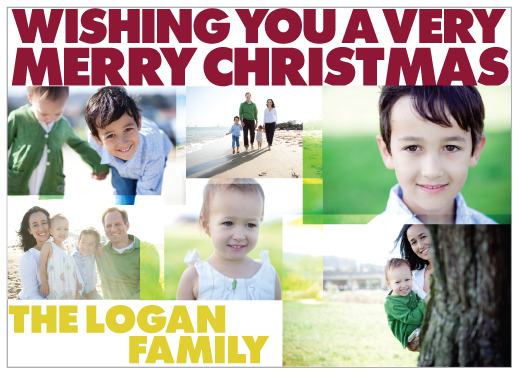 holiday photo cards - Holiday Montage by PAPERSTUDIO