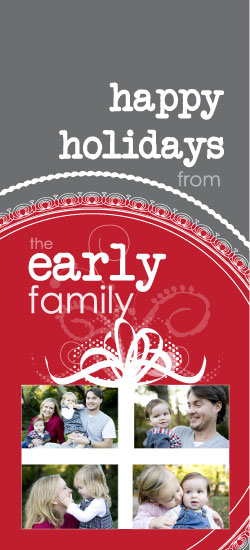 holiday photo cards - The Gift of Family I by Sarah Early