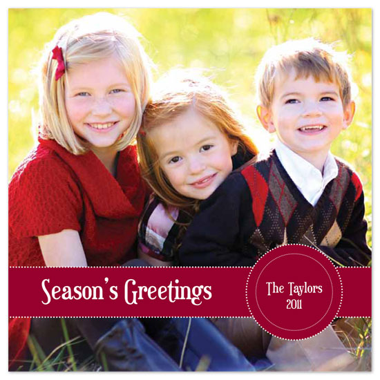 holiday photo cards - Simple Greetings by Annalisha Johnson