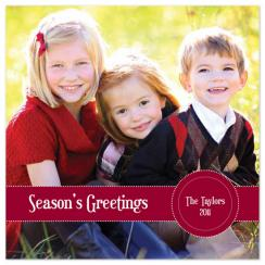 Simple Greetings Holiday Photo Cards