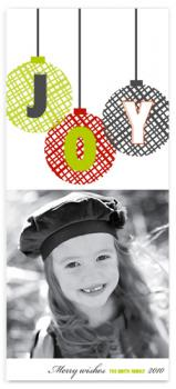 JOY Holiday Photo Cards