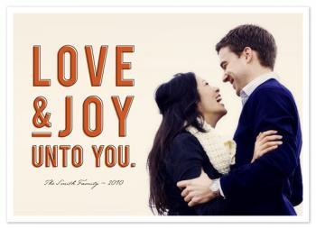 Love & Joy Holiday Photo Cards