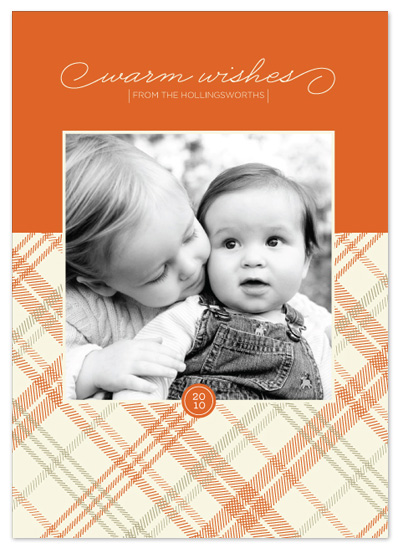 holiday photo cards - warm + cozy by Stacey Day