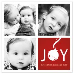Jingle Squares Holiday Photo Cards