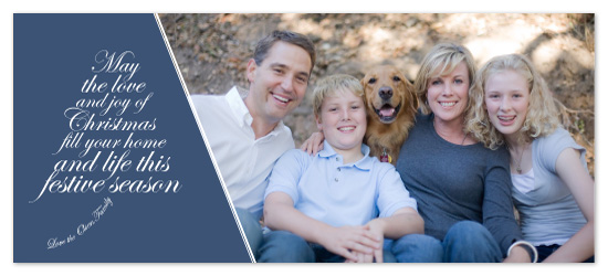 holiday photo cards - Love and Joy by Clare Schenk