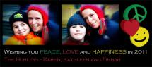 Peace, Love and Happine... by Karen Hurley