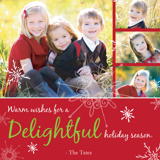 holiday photo cards - Holiday Delight by Susan Crispell