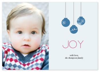 Joy Holiday Photo Cards
