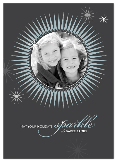 holiday photo cards - sparkle by Karen Glenn