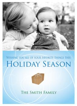 Favorite Things Holiday Photo Cards