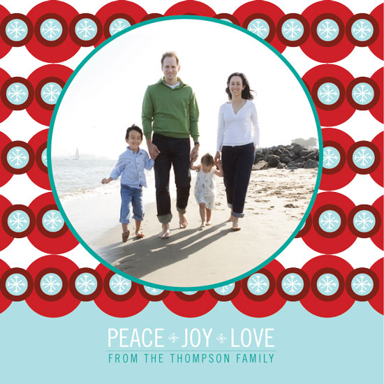 holiday photo cards - Bold Holiday Card by GAIT design