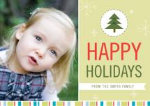 Delightful Holiday Card by GAIT design