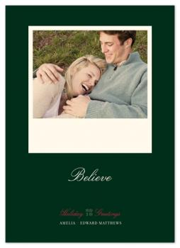 float + believe Holiday Photo Cards