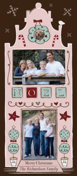 Noel City Flat Holiday Photo Cards