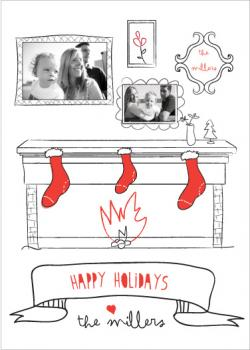 Cozy Christmas Holiday Photo Card Holiday Photo Cards