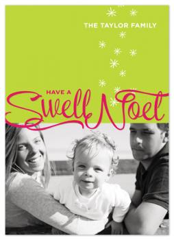 Swell Noel Holiday Photo Cards