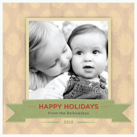 holiday photo cards - Contemporary Classic. Vintage Typography by Seth Clark