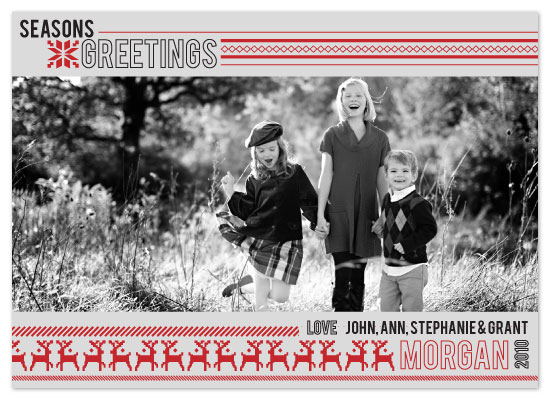 holiday photo cards - Reindeer Kitsch by ardentGOODS
