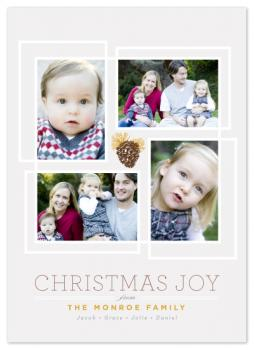 Pine Luxe Holiday Photo Cards