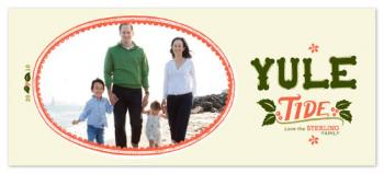 YULE TIDE Holiday Photo Cards