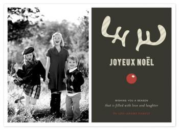 JOYEUX NOËL + reindeer