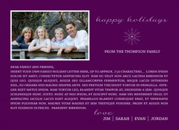Holiday Photo Letter
