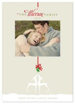 Merry Wishes & Joyful Dreams Holiday Photo Cards