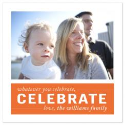 celebrate Holiday Photo Cards