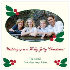 Holly Jolly! Holiday Photo Cards