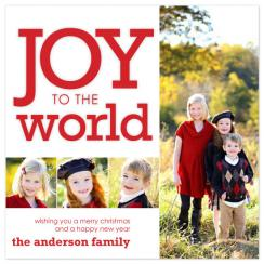 Joy to the Pictures Holiday Photo Cards
