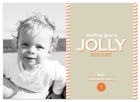 holiday photo cards - jolly holiday by stacey day