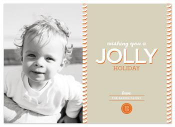 jolly holiday Holiday Photo Cards