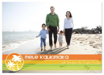 Mele Kalikimaka! Holiday Photo Cards