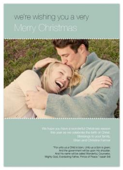 For Unto Us Holiday Photo Cards