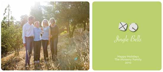 holiday photo cards - Jingle Bells by Lulu Creates