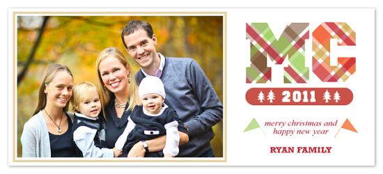 holiday photo cards - Varsity Christmas by Yolanda Mariak Chendak