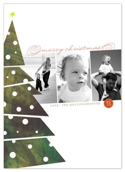 holiday photo cards - the tree by stacey day