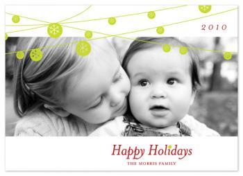 Snowlights Holiday Photo Cards
