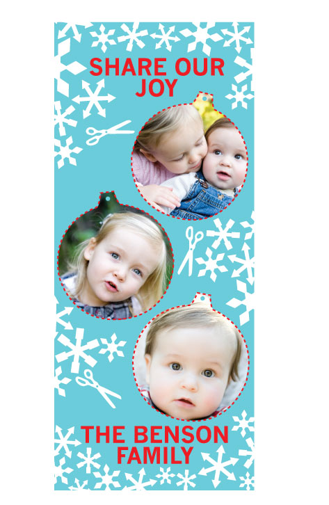 holiday photo cards - Cut It Out by Sara Jensen